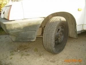 Проверяйте,не спущены ли колеса