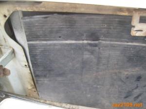 Радиатор Ваз 2109 закрыт картонкой