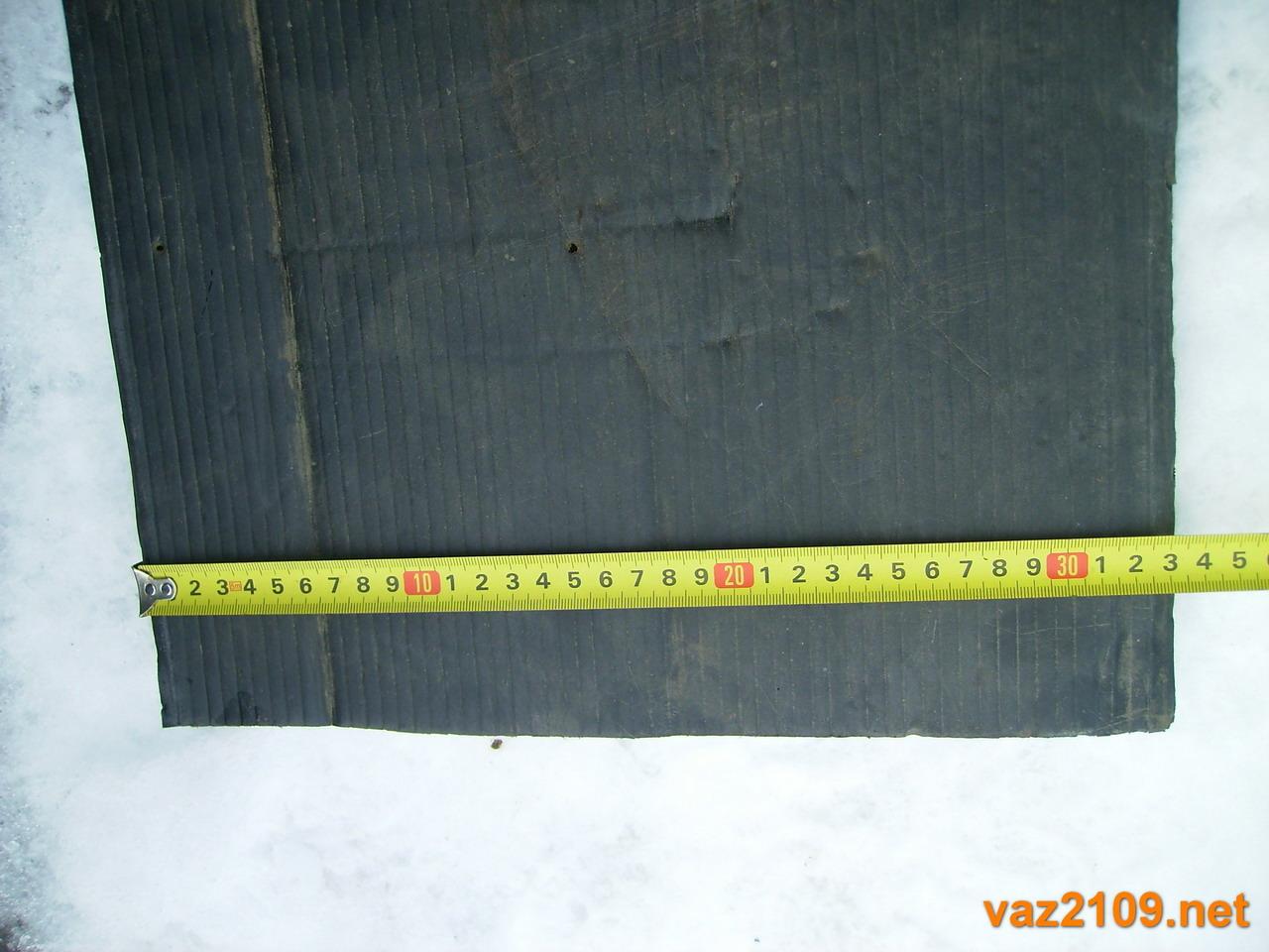 Высота картонки на радиатор Ваз 2109