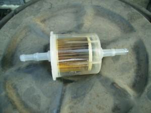 Грязный топливный фильтр Ваз 2109