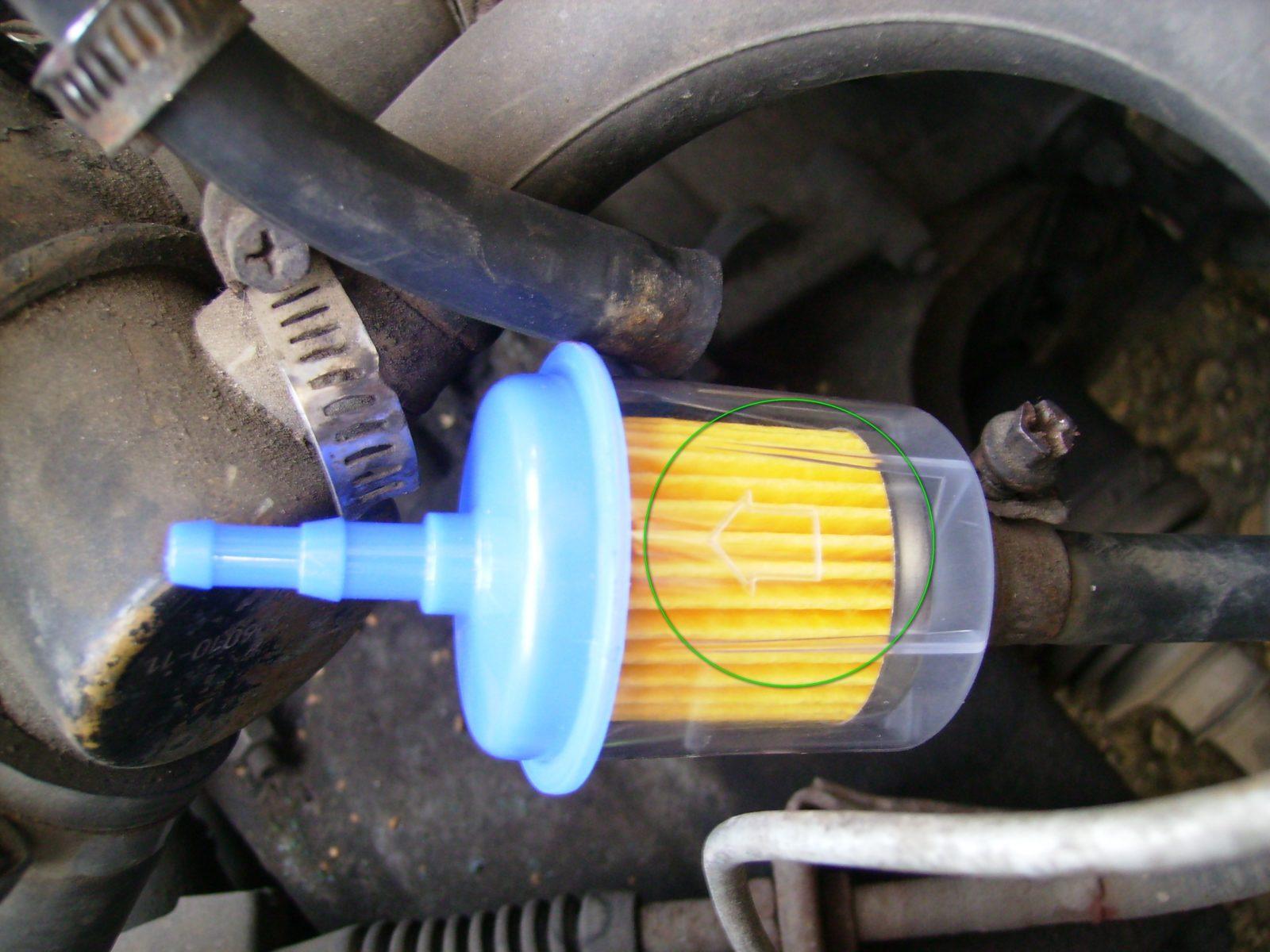 Правильная установка топливного фильтра