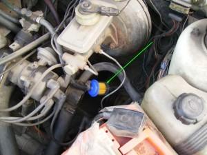 Расположение топливного фильтра Ваз 2109