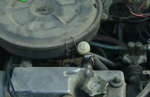 Вентиляция газов картера двигателя Ваз 2109