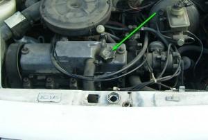 Заливная горловина двигателя Ваз 2109