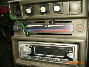 Откройте краник радиатора отопителя Ваз 2109