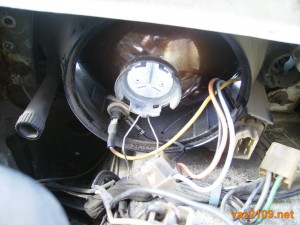 Лампочка вынута из патрона