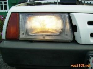 Ближний свет фар Ваз 2109
