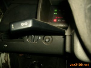 Переключатель поворотов Ваз 2109