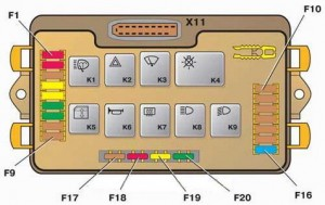 Монтажный блок 2114–3722010–60 Ваз 2108,Ваз 2109, Ваз 21099