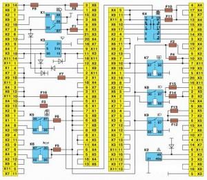 Монтажный блок новой модели Ваз 2108, Ваз 2109, Ваз 21099