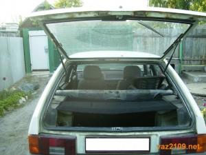 Багажник Ваз 2109 открыт