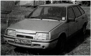 Ваз 2109 с двигателем Ванкеля
