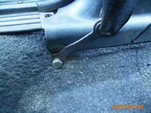 Передний ремень безопасности 4 Ваз 2109