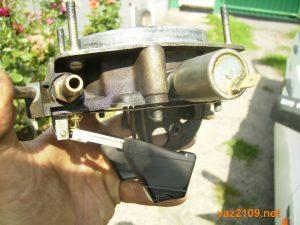 Проверка игольчатого клапана карбюратора