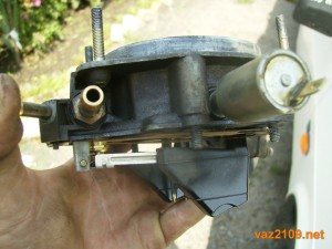 Проверка игольчатого клапана карбюратора 2